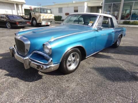 1962 Studebaker GRAN TURISMO for sale at Ted Vernon Specialty Automobile Inc. in Miami FL