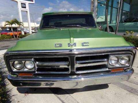 1972 GMC C/K 1500 Series for sale at Ted Vernon Specialty Automobile Inc. in Miami FL