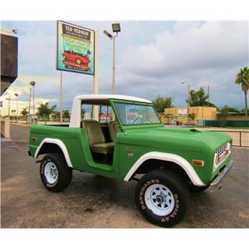 Ford bronco for sale for Corn motors everett wa