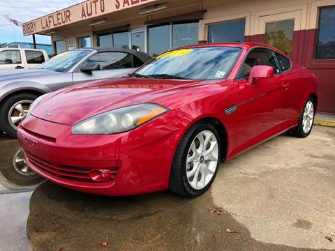 2008 Hyundai Tiburon for sale at Bobby Lafleur Auto Sales in Lake Charles LA