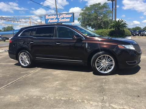 2014 Lincoln MKT for sale at Bobby Lafleur Auto Sales in Lake Charles LA