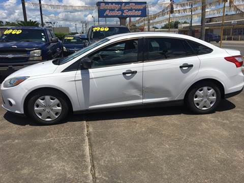 2013 Ford Focus for sale at Bobby Lafleur Auto Sales in Lake Charles LA