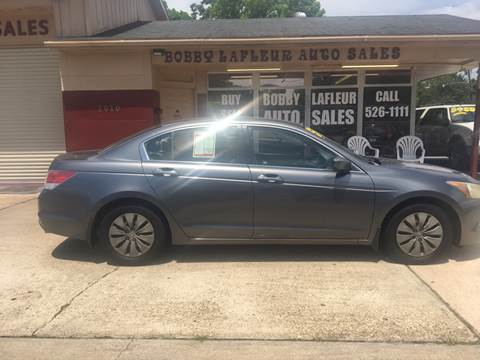2008 Honda Accord for sale at Bobby Lafleur Auto Sales in Lake Charles LA