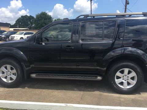 2008 Nissan Pathfinder for sale at Bobby Lafleur Auto Sales in Lake Charles LA