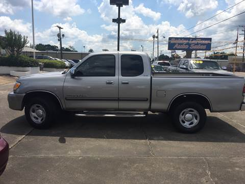 2004 Toyota Tundra for sale at Bobby Lafleur Auto Sales in Lake Charles LA