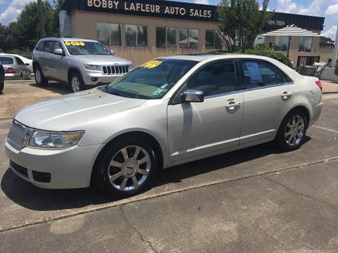 2006 Lincoln Zephyr for sale at Bobby Lafleur Auto Sales in Lake Charles LA