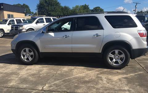 2010 GMC Acadia for sale at Bobby Lafleur Auto Sales in Lake Charles LA