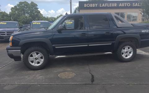 2006 Chevrolet Avalanche for sale at Bobby Lafleur Auto Sales in Lake Charles LA