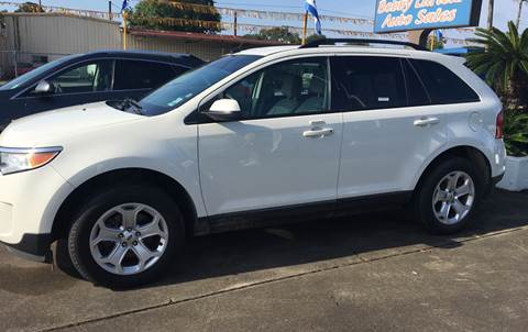 2012 Ford Edge for sale at Bobby Lafleur Auto Sales in Lake Charles LA