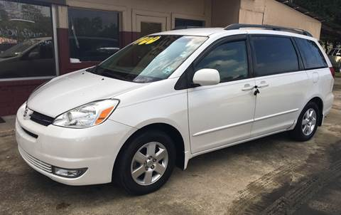 2004 Toyota Sienna for sale at Bobby Lafleur Auto Sales in Lake Charles LA
