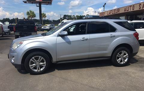 2010 Chevrolet Equinox for sale at Bobby Lafleur Auto Sales in Lake Charles LA