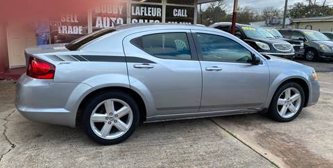 2013 Dodge Avenger for sale at Bobby Lafleur Auto Sales in Lake Charles LA