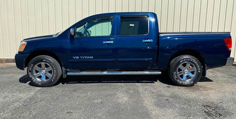 2007 Nissan Titan for sale at Bobby Lafleur Auto Sales in Lake Charles LA
