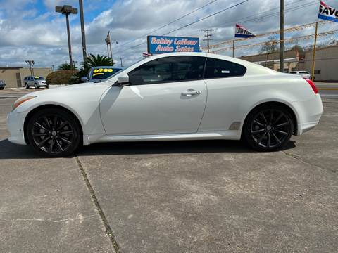 2010 Infiniti G37 Coupe for sale at Bobby Lafleur Auto Sales in Lake Charles LA