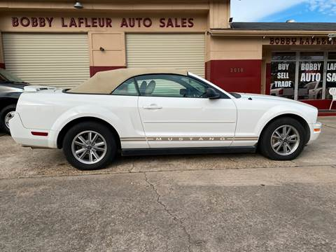 2005 Ford Mustang for sale at Bobby Lafleur Auto Sales in Lake Charles LA