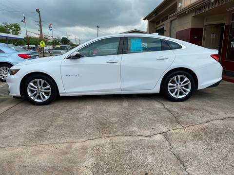 2017 Chevrolet Malibu for sale at Bobby Lafleur Auto Sales in Lake Charles LA