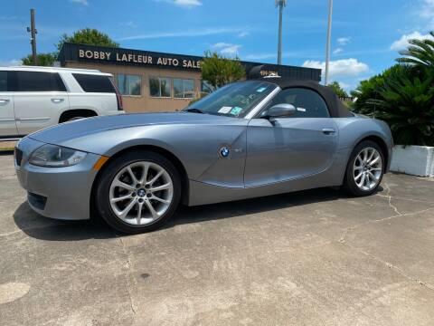 2007 BMW Z4 for sale at Bobby Lafleur Auto Sales in Lake Charles LA