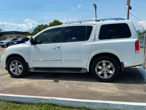 2012 Nissan Armada for sale at Bobby Lafleur Auto Sales in Lake Charles LA