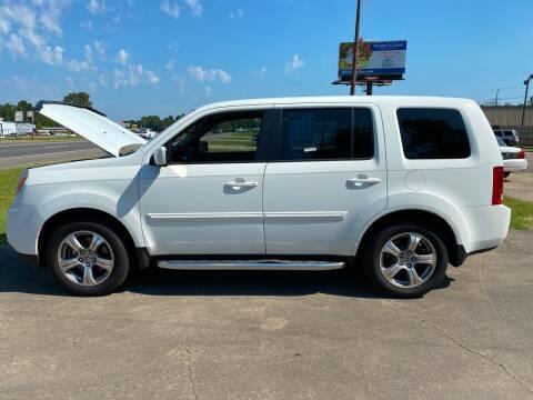 2012 Honda Pilot for sale at Bobby Lafleur Auto Sales in Lake Charles LA