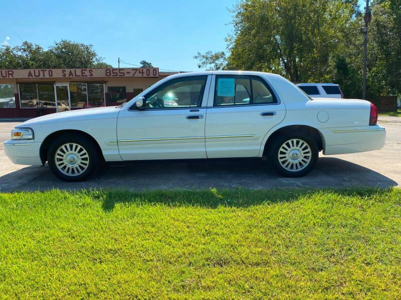 2007 Mercury Grand Marquis for sale at Bobby Lafleur Auto Sales in Lake Charles LA