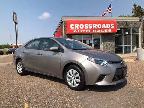 2015 Toyota Corolla for sale in Eau Claire, WI