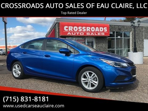 2016 Chevrolet Cruze for sale in Eau Claire, WI