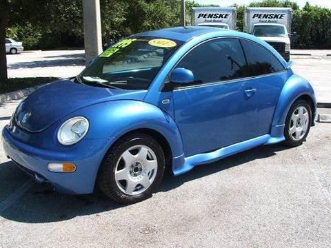 1999 Volkswagen New Beetle for sale at DAN'S DEALS ON WHEELS in Davie FL