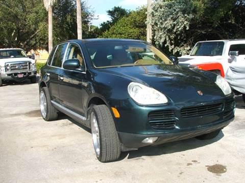 2003 Porsche Cayenne For Sale In Davie, FL