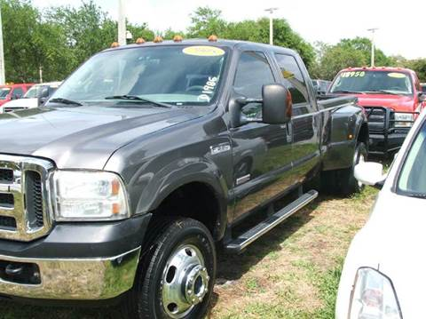2005 Ford F-350 Super Duty for sale at DAN'S DEALS ON WHEELS in Davie FL