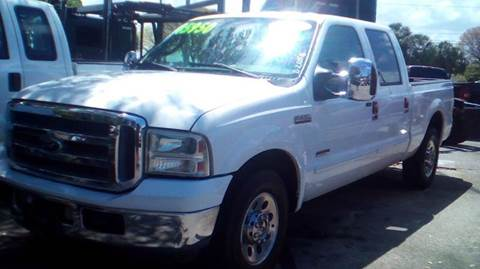 2006 Ford F-250 Super Duty for sale at DAN'S DEALS ON WHEELS AUTO SALES, INC. in Davie FL