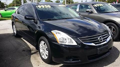 2012 Nissan Altima for sale at DAN'S DEALS ON WHEELS in Davie FL