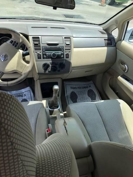 2008 Nissan Versa 1.8 SL 4dr Sedan 4A - Davie FL