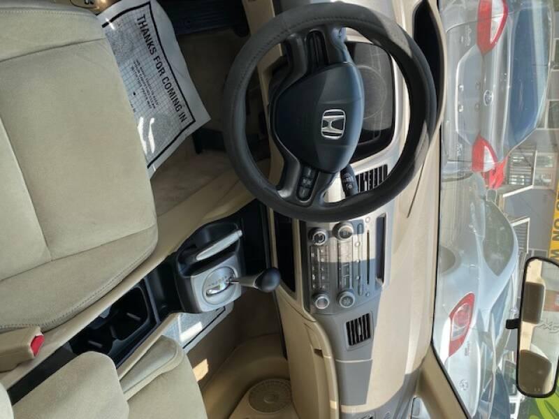 2006 Honda Civic LX 4dr Sedan w/automatic - Davie FL