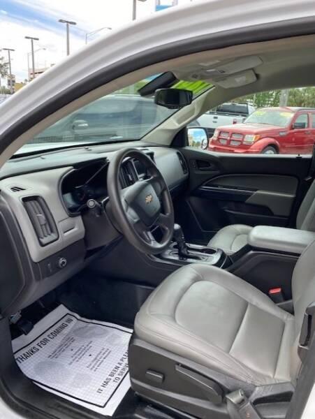2016 Chevrolet Colorado 4x2 Work Truck 4dr Extended Cab 6 ft. LB - Davie FL