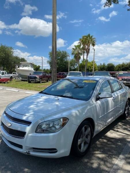 2012 Chevrolet Malibu LT 4dr Sedan w/1LT - Davie FL