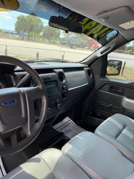 2014 Ford F-150 4x2 XL 4dr SuperCab Styleside 6.5 ft. SB - Davie FL
