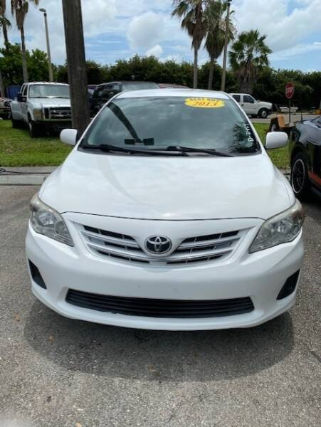 2013 Toyota Corolla S 4dr Sedan 4A - Davie FL