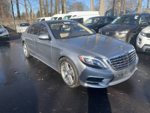 2015 Mercedes-Benz S-Class S 550 4MATIC for sale at EMG AUTO SALES in Avenel NJ