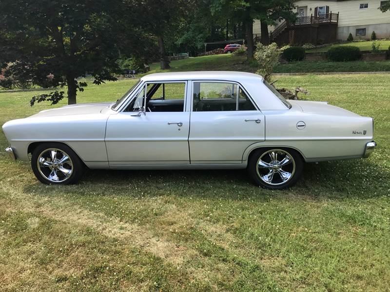 1966 Chevrolet Nova for sale at GRAHAM'S AUTO SALES & SERVICE INC in Ephrata PA