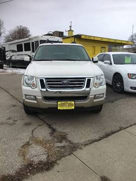 2008 Ford Explorer Eddie Bauer for sale at Home Town Auto Group West in Cedar Rapids IA