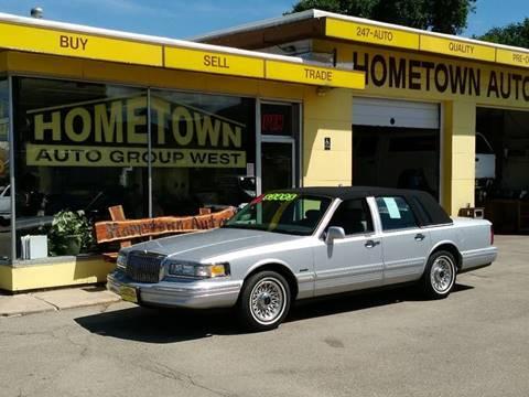 1997 Lincoln Town Car for sale in Cedar Rapids, IA