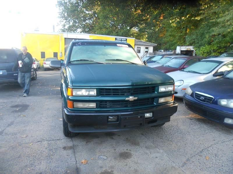 2000 Chevrolet Tahoe Limited/Z71 4dr Z71 4WD SUV - Wallingford CT