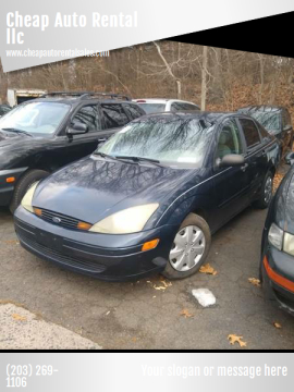 2003 Ford Focus SE for sale at Cheap Auto Rental llc in Wallingford CT