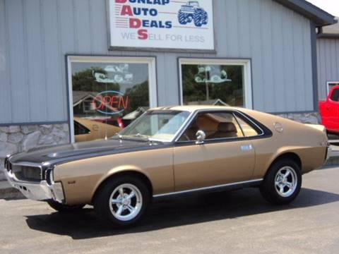 1969 AMC AMX for sale in Elkhart, IN
