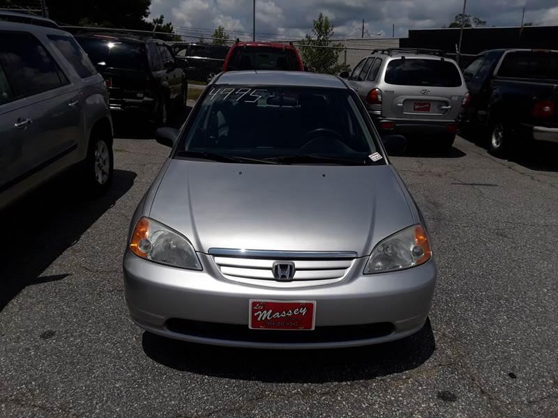2003 Honda Civic For Sale At LEE MASSEY AUTO SALES INC In Phenix City AL