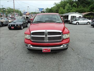 2002 Dodge Ram Pickup 1500