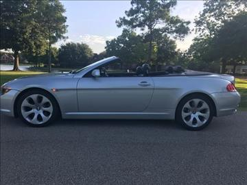 2005 BMW 6 Series for sale in Houston, TX