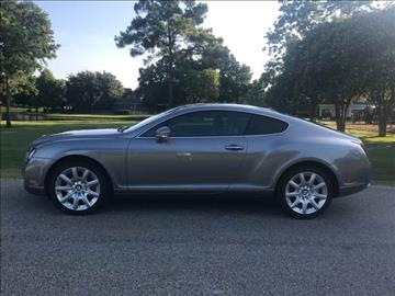 2005 Bentley Continental GT for sale in Houston, TX