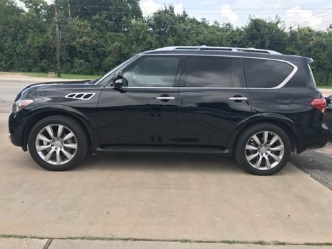 2012 Infiniti QX56 for sale in Houston, TX