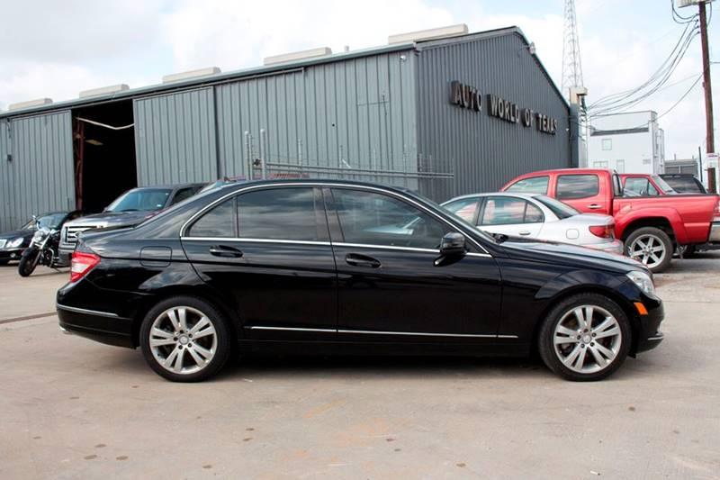 2010 Mercedes-Benz C-Class for sale at TEXAN RV, LTD   Dba. AUTO & RV WORLD OF TEXAS. in Katy TX